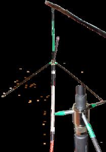 Походно-базовая антенна Ground Plane